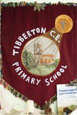 Tibberton School banner