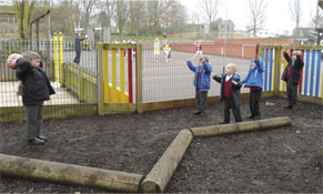 Tibberton School Playground