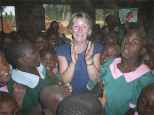 Tibberton Teachers in Kenya