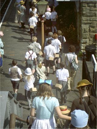 Tibberton School Evacuees