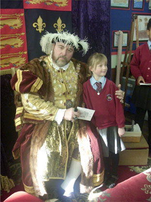 Henry VII at Tibberton School